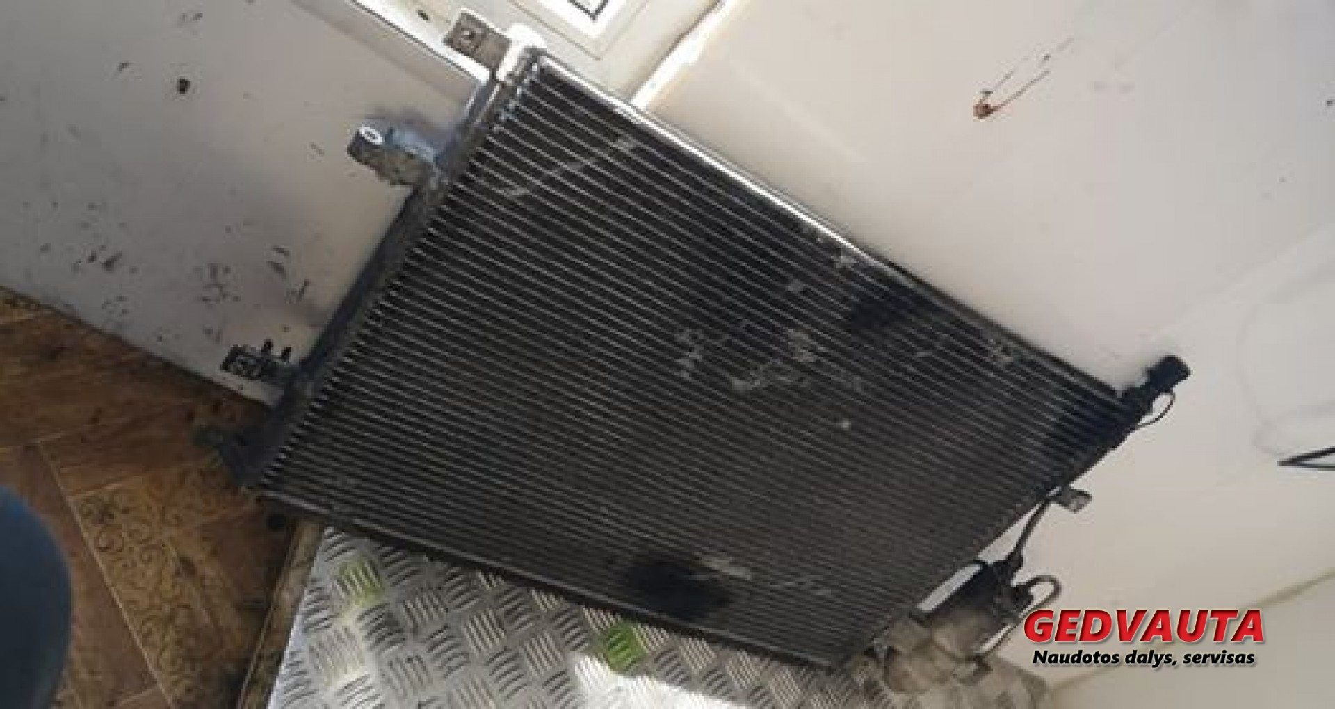 AC cooling radiator condenser