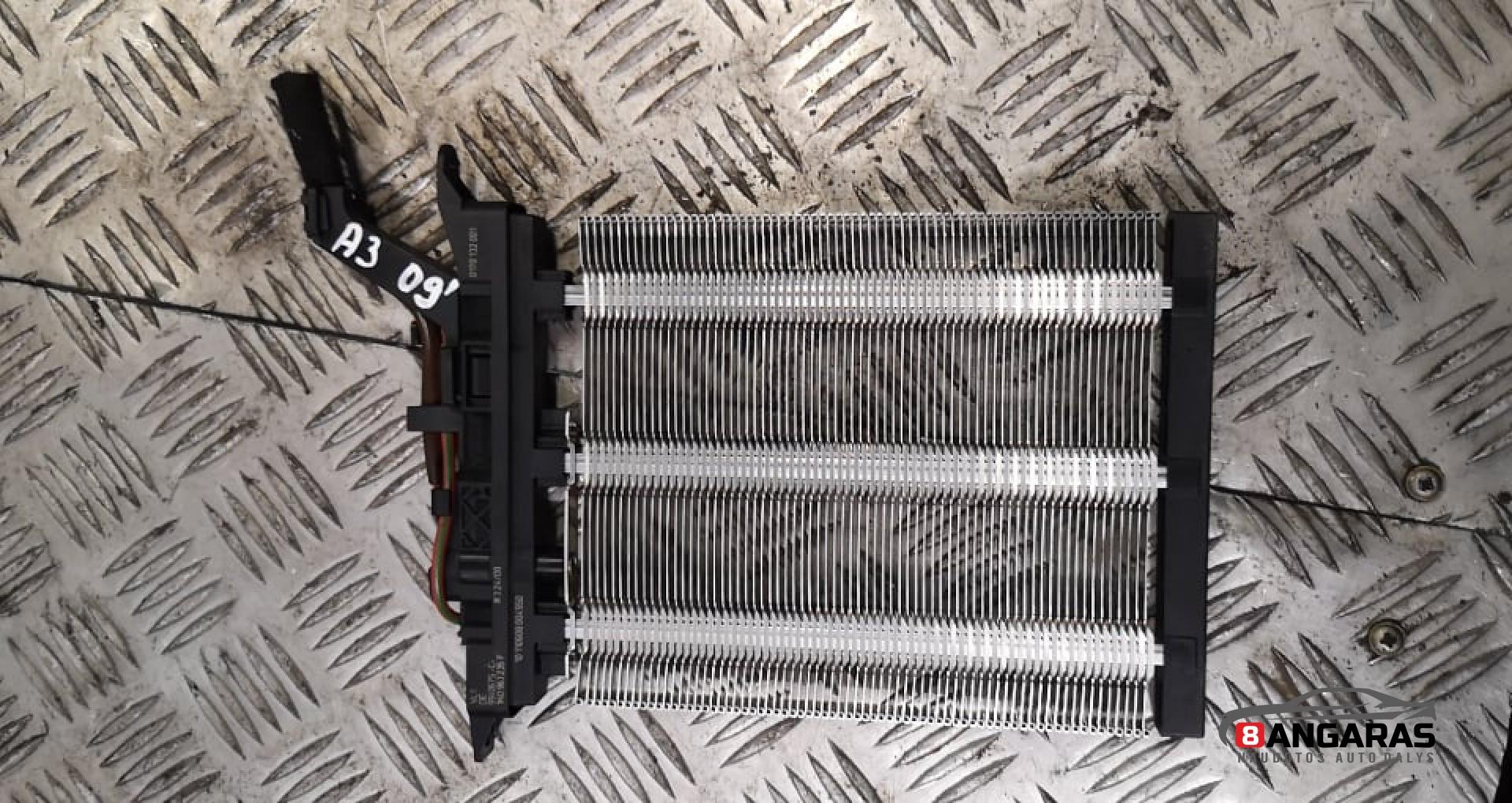 Elektrinis salono pečiuko radiatorius