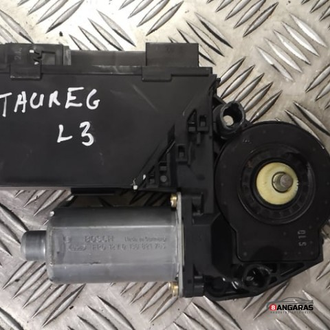 Rear door window regulator motor